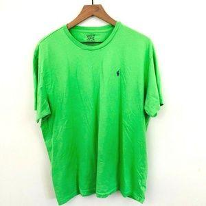 Polo Ralph Lauren Green Crewneck T-Shirt